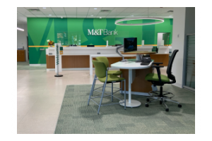 M&T Bank's branch location at Armory Square in Downtown Syracuse
